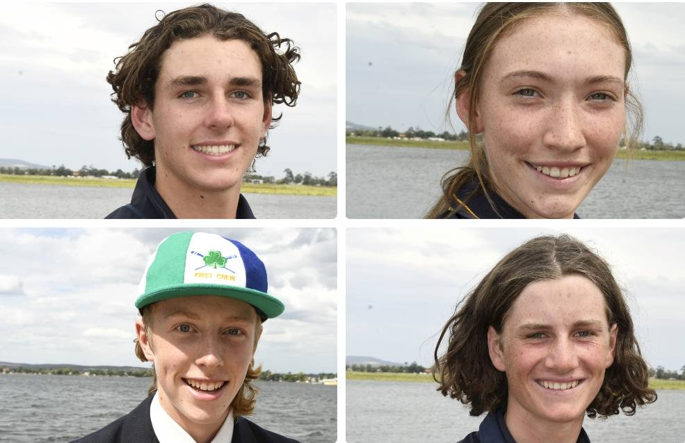Hugh Bond, Jess Hawker, Tom Foley and Ollie Warwick are among those that will represent Victoria. Pictures: Lachlan Bence