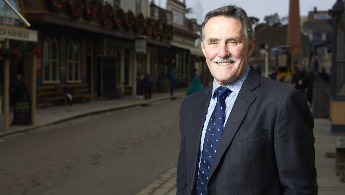 New role: Sovereign Hill CEO Jeremy Johnson has been elected president of the Australian Chamber of Commerce and Industry.