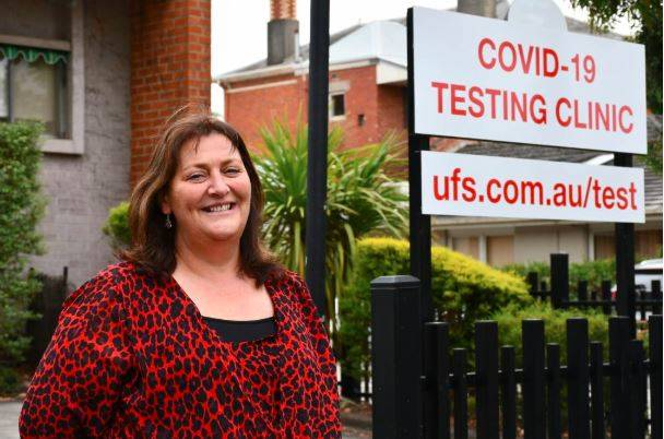 READY: Ballarat's health leaders call for COVID-19 testing patience but UFS' Danielle Trezise says people with symptoms will be fit in. Picture: Alex Ford