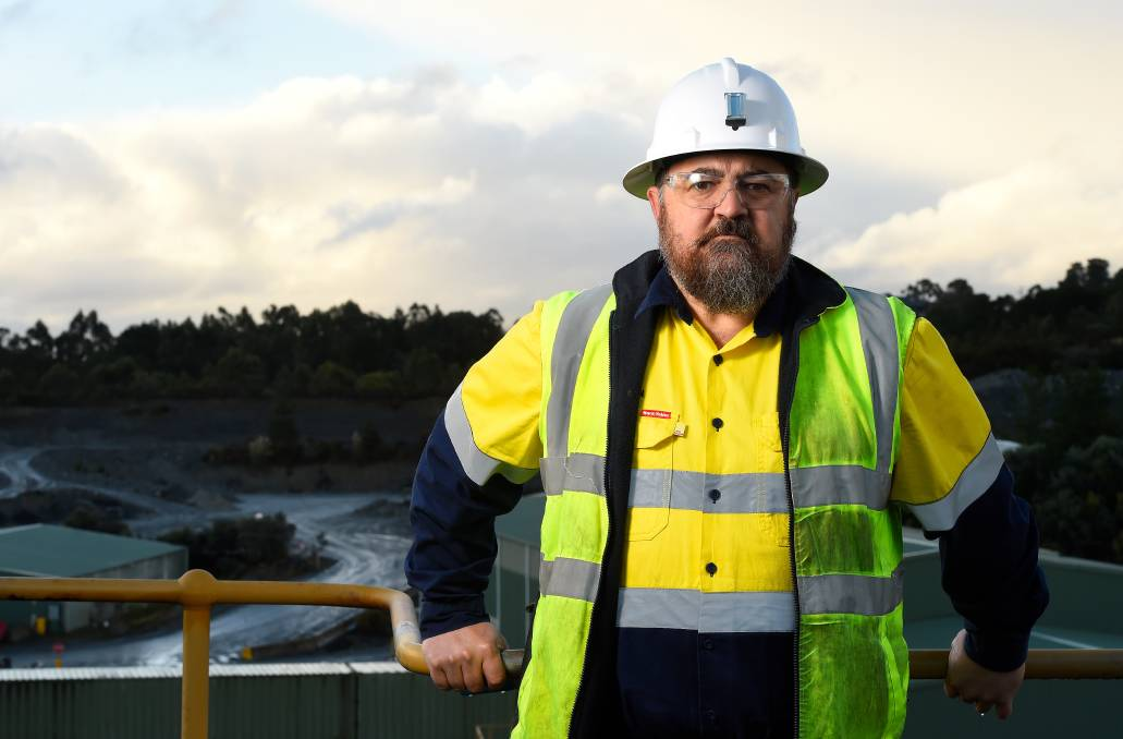 Former Ballarat Gold Mine general manager, Stephen Jeffers. Picture: Adam Trafford