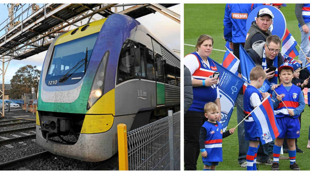 Ballarat train line construction shutdown plagues last round of AFL