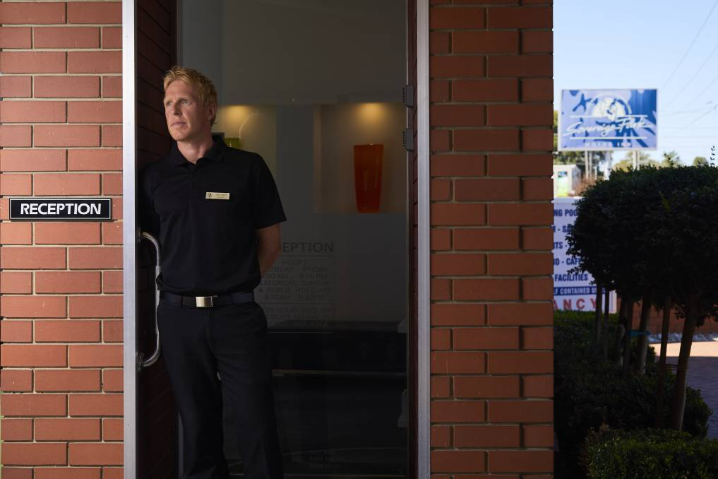 LONG WAY BACK: Tim Canny from Sovereign Park Motor Inn has welcomed the state government funding announcement, but says it will be a long road back for all tourist providers.