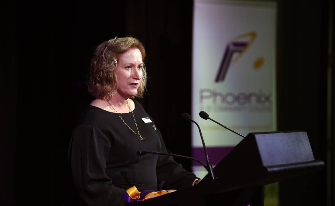 STUDIES: Phoenix P-12 Community College principal Karen Snibson is one of five Victorian school leaders taking part in the Menzies Fellowship program to help reform school leadership across Australia. Picture: Kate Healy