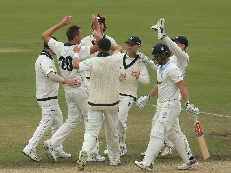 Victoria have won the Sheffield Shield final over NSW by 177 runs in Melbourne.